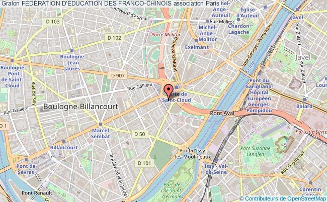 plan association FÉdÉration D'Éducation Des Franco-chinois