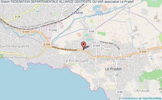 plan association Federation Departementale Alliance Centriste Du Var