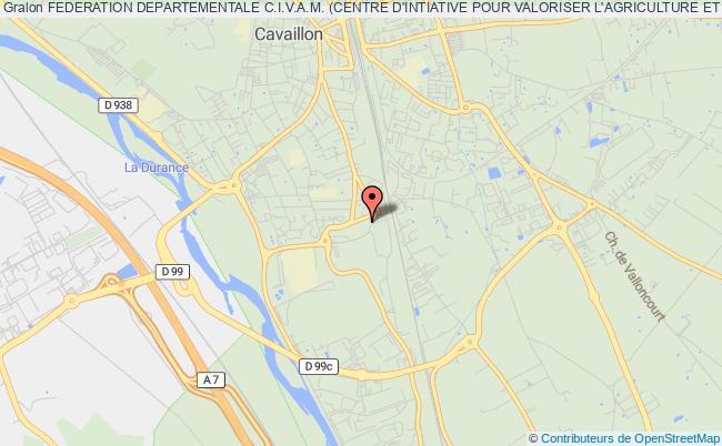 plan association Federation Departementale C.i.v.a.m. (centre D'intiative Pour Valoriser L'agriculture Et Le Milieu Rural)