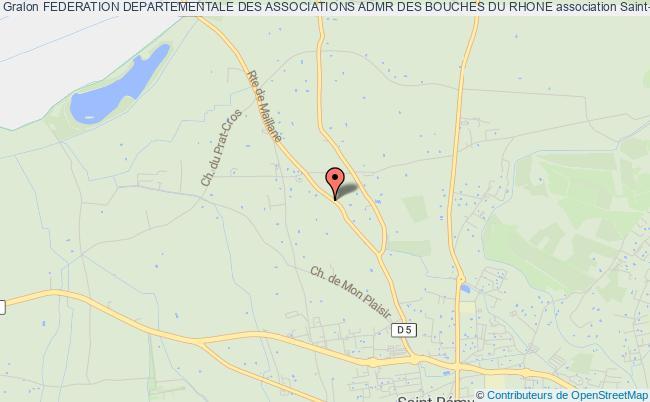 plan association Federation Departementale Des Associations Admr Des Bouches Du Rhone