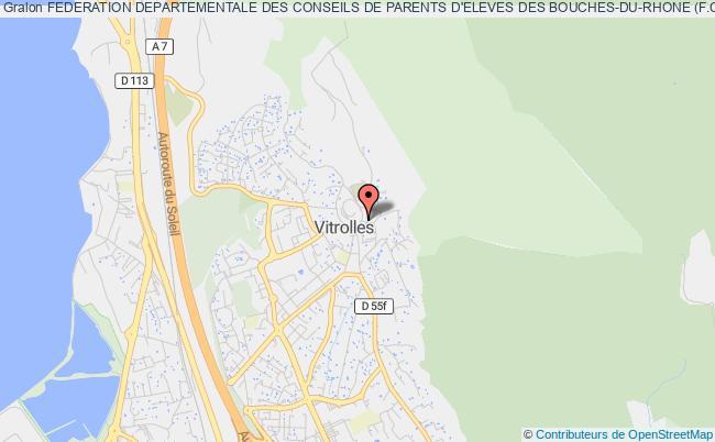 plan association Federation Departementale Des Conseils De Parents D'eleves Des Bouches-du-rhone (f.c.p.e.13)