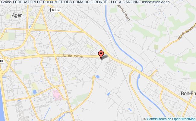 plan association Federation Departementale Des Cooperatives  D'utilisation De Materiel Agricole (fd Cuma De Lot-et-garonne)