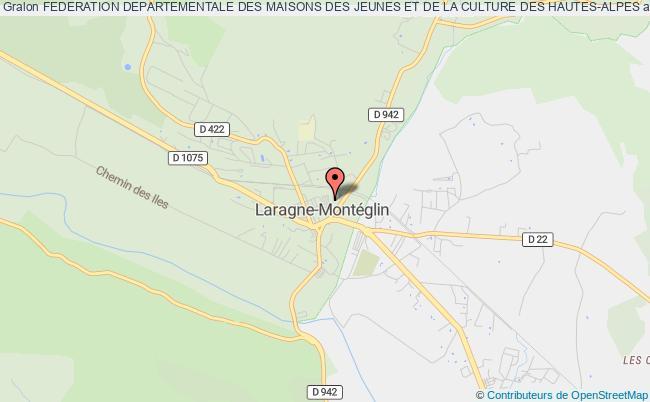 plan association Federation Departementale Des Maisons Des Jeunes Et De La Culture Des Hautes-alpes