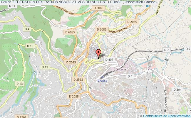 plan association Federation Des Radios Associatives Du Sud Est ( Frase )