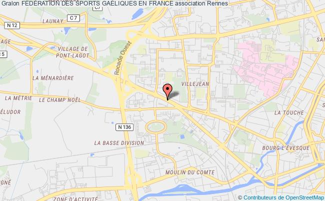 plan association FÉdÉration Des Sports GaÉliques En France