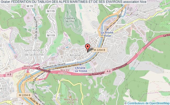 plan association FÉdÉration Du Tabligh Des Alpes Maritimes Et De Ses Environs