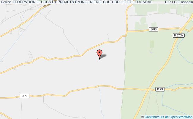 plan association Federation Etudes Et Projets En Ingenierie Culturelle Et Educative            E P I C E