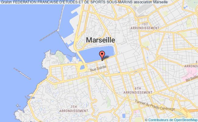 plan association Federation Francaise D'etudes Et De Sports Sous-marins