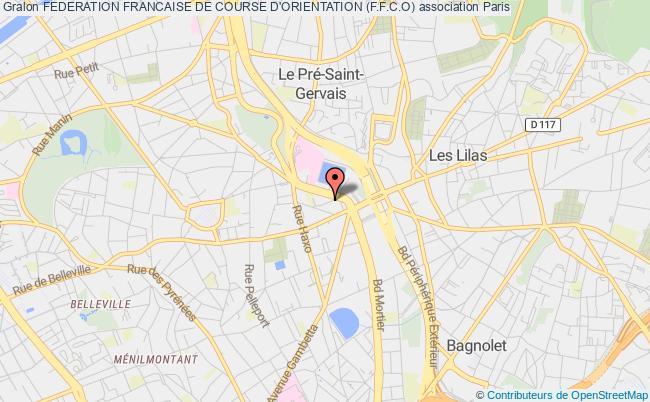 plan association Federation Francaise De Course D'orientation (f.f.c.o)