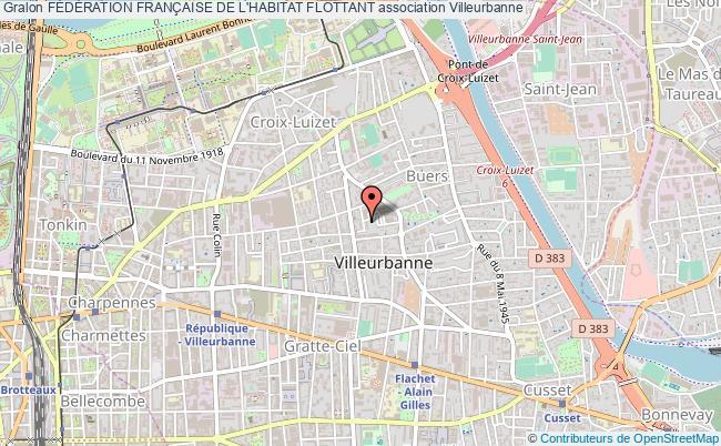 plan association FÉdÉration FranÇaise De L'habitat Flottant