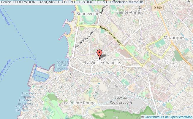 plan association Federation FranÇaise Du Soin Holistique F.f.s.h