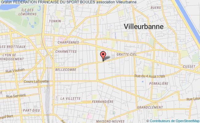 plan association Federation Francaise Du Sport Boules