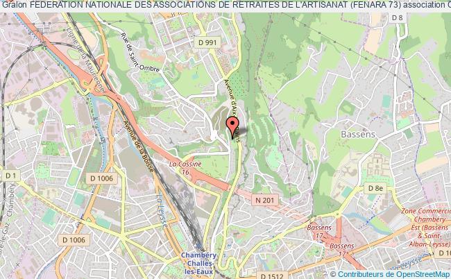 plan association Federation Nationale Des Associations De Retraites De L'artisanat (fenara 73)
