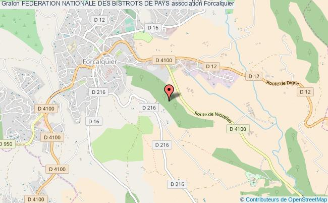 plan association Federation Nationale Des Bistrots De Pays