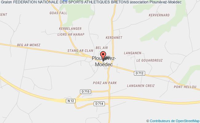 plan association Federation Nationale Des Sports Athletiques Bretons