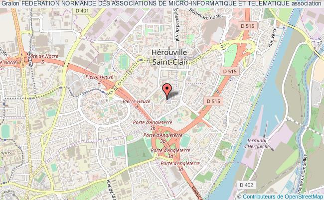 plan association Federation Normande Des Associations De Micro-informatique Et Telematique