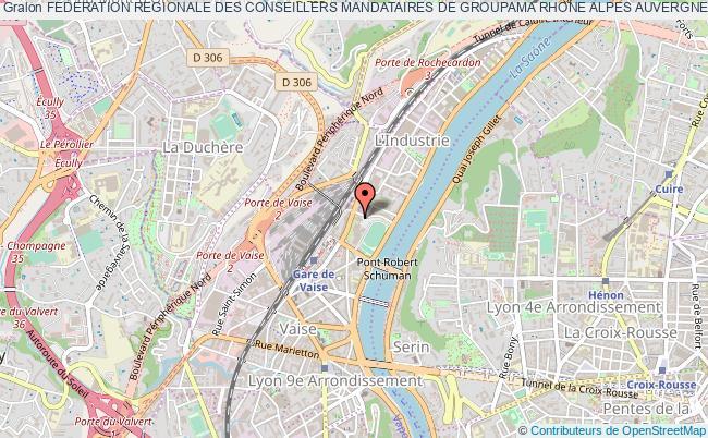 plan association Federation Regionale Des Conseillers Mandataires De Groupama Rhone Alpes Auvergne