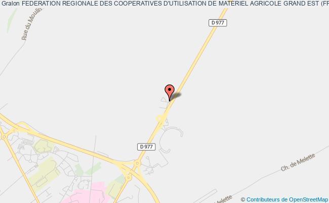 plan association Federation Regionale Des Cooperatives D'utilisation De Materiel Agricole Grand Est (frcuma Grand Est)