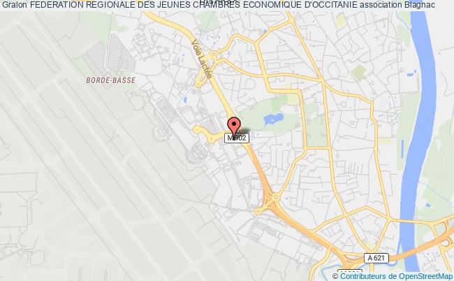 plan association Federation Regionale Des Jeunes Chambres Economique D'occitanie