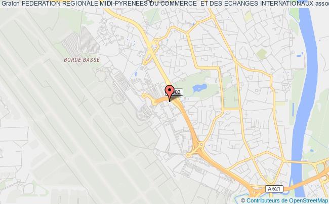 plan association Federation Regionale Midi-pyrenees Du Commerce  Et Des Echanges Internationaux