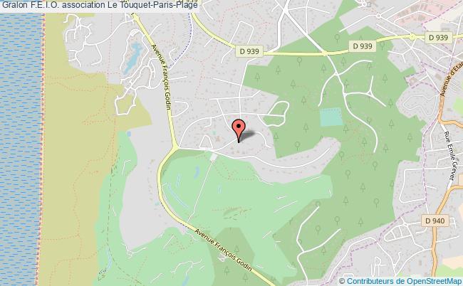 plan association F.e.i.o. Le    Touquet-Paris-Plage
