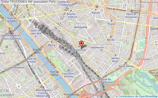 plan association Fenoumen Aw Paris 12e