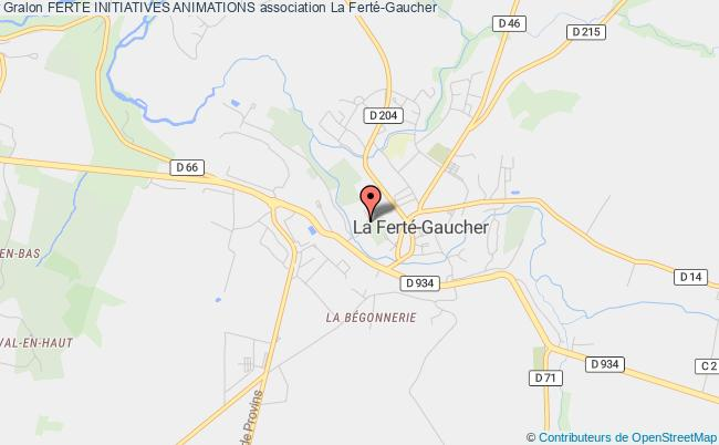 plan association Ferte Initiatives Animations La    Ferté-Gaucher