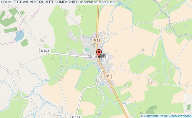 plan association Festival Arlequin Et Compagnies Montaudin