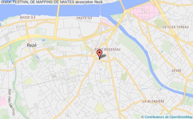 plan association Festival De Mapping De Nantes