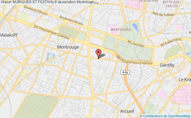 plan association Festival De Musique Du Mont Saint-michel Et Sa Baie Montrouge