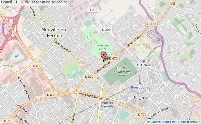 plan association F.f. Team Tourcoing