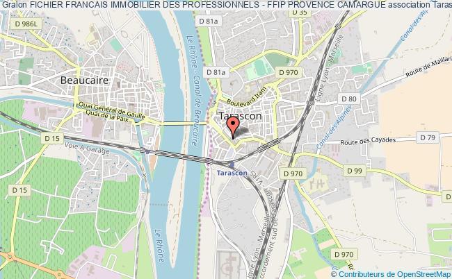 plan association Fichier Francais Immobilier Des Professionnels - Ffip Provence Camargue