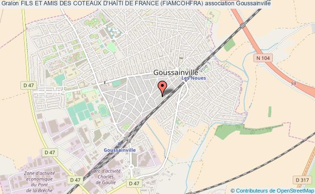 plan association Fils Et Amis Des Coteaux D'haÏti De France (fiamcohfra) Goussainville