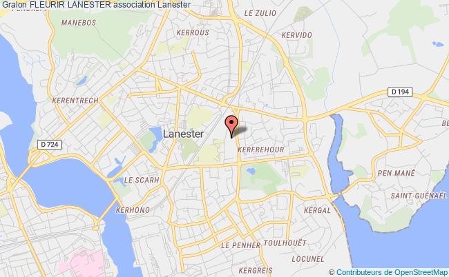 plan association Fleurir Lanester