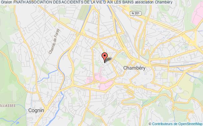 plan association Fnath Association Des Accidents De La Vie D Aix Les Bains