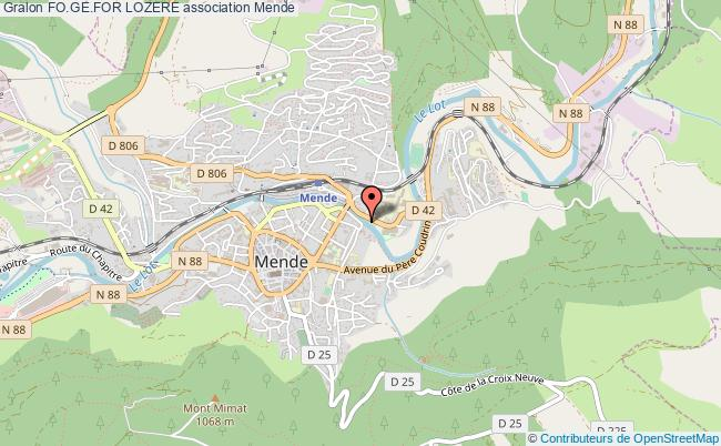 plan association Fo.ge.for Lozere