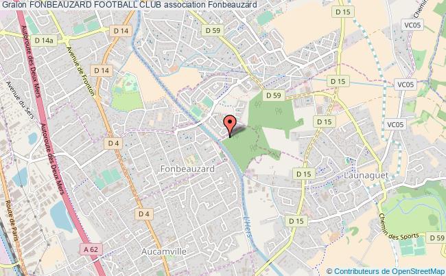 plan association Fonbeauzard Football Club