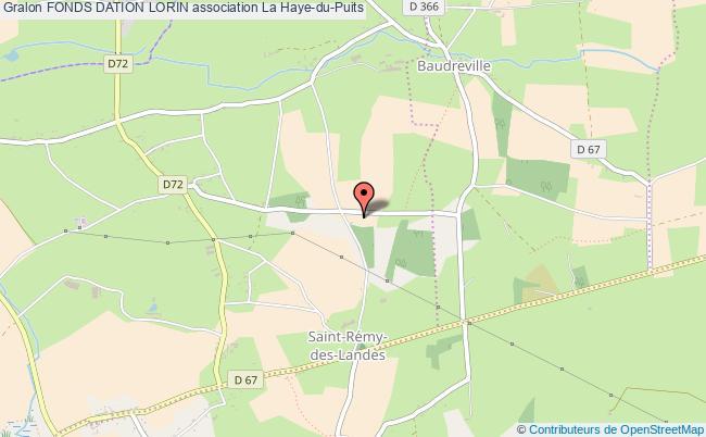 plan association Fonds Dation Lorin Saint-Rémy-des-Landes