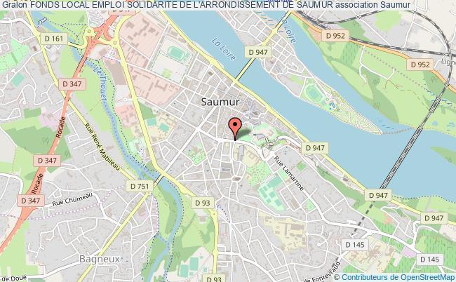 plan association Fonds Local Emploi Solidarite De L'arrondissement De Saumur