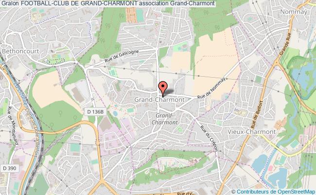 plan association Football-club De Grand-charmont