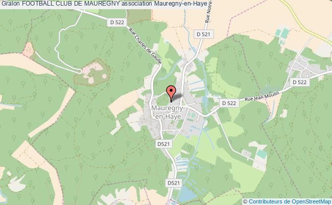 plan association Football Club De Mauregny