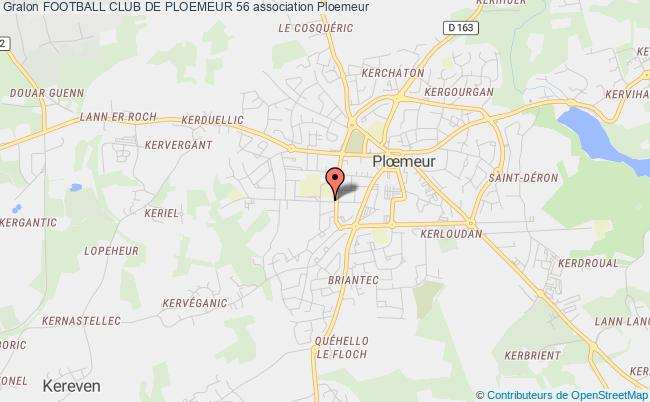 plan association Football Club De Ploemeur 56