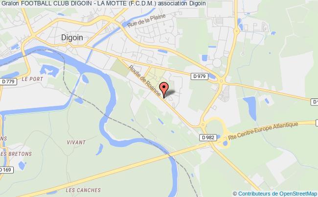 plan association Football Club Digoin - La Motte (f.c.d.m.) Digoin