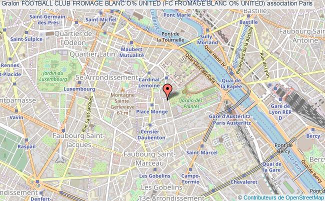 plan association Football Club Fromage Blanc O% United (fc Fromage Blanc O% United)
