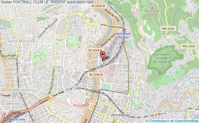 plan association Football Club Le Trident Nice