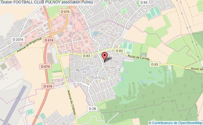 plan association Football Club Pulnoy Pulnoy
