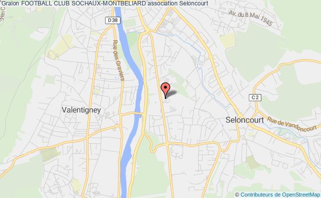 plan association Football Club Sochaux-montbeliard