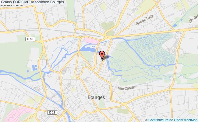 plan association Forgive Bourges