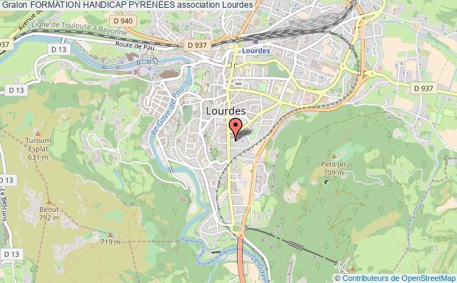 plan association Formation Handicap PyrÉnÉes Lourdes cedex