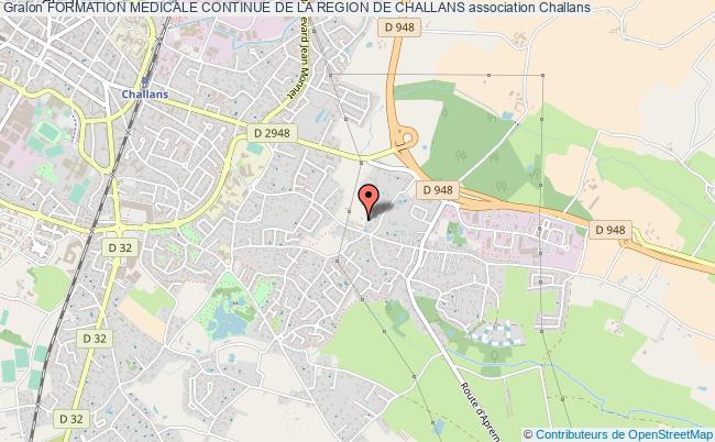 plan association Formation Medicale Continue De La Region De Challans